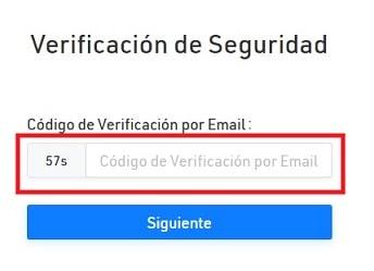 Verificación seguridad Kucoin