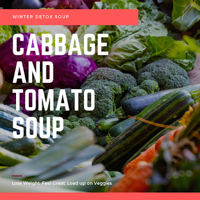 Quick and Easy Fat Burning Soup with Cabbage and Tomatoes