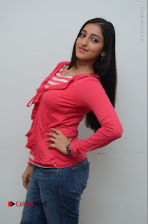 Telugu Actress Mouryani Latest Pos in Blue Denim Jeans  0007.JPG