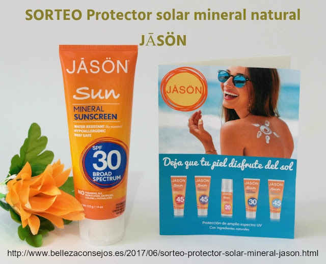 Protector Solar Mineral natural JĀSÖN