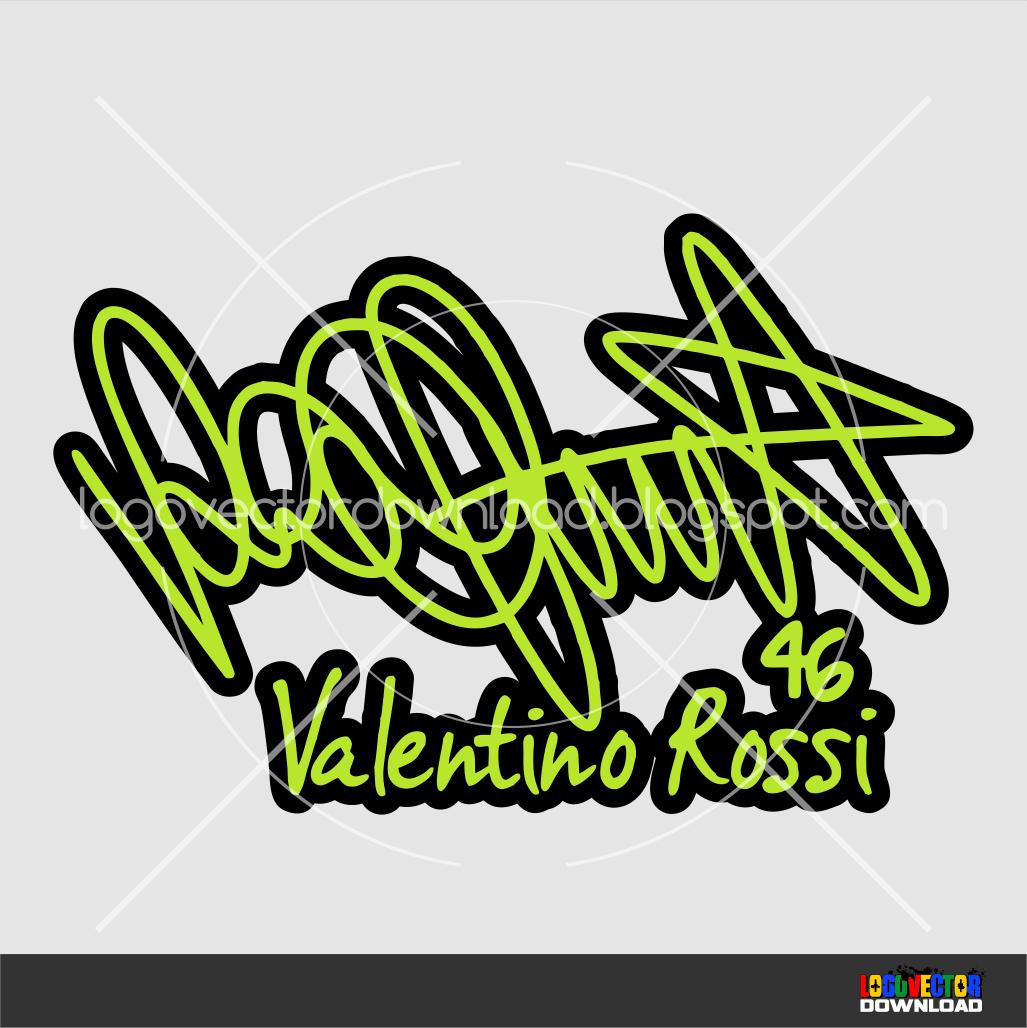 gambar tandatangan valentino rossi logo vector cdr download gambar garuda format di rebanas. Black Bedroom Furniture Sets. Home Design Ideas