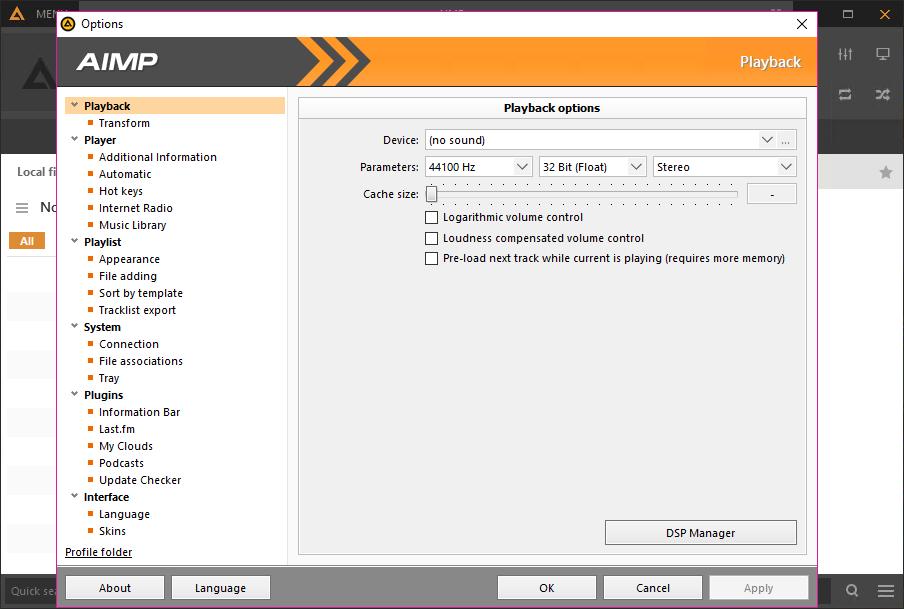 AIMP 4.60 Build 2161