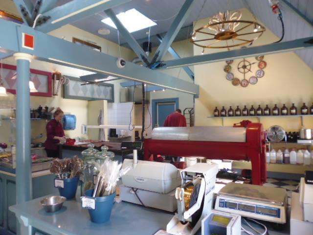 Bolchekogeriet: fábrica de caramelos