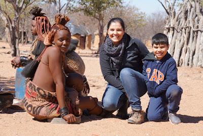 Himbas e Damaras: visitando aldeias nativas na Namíbia