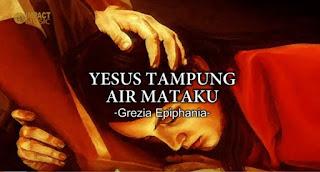 Lagu Rohani Yesus Tampung Air Mataku