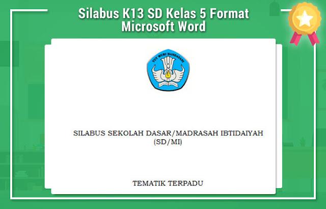 Silabus K13 SD Kelas 5