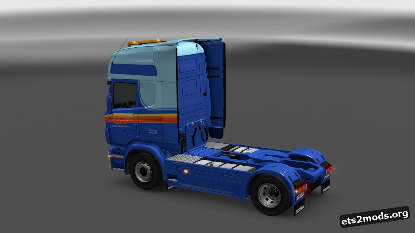 L. van Tiel Transport Skin for Scania RJL