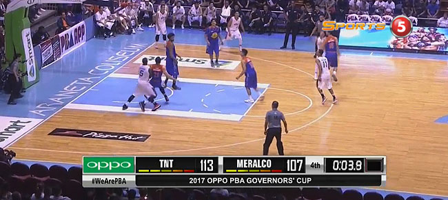 TNT def. Meralco, 113-107 (REPLAY VIDEO) September 6