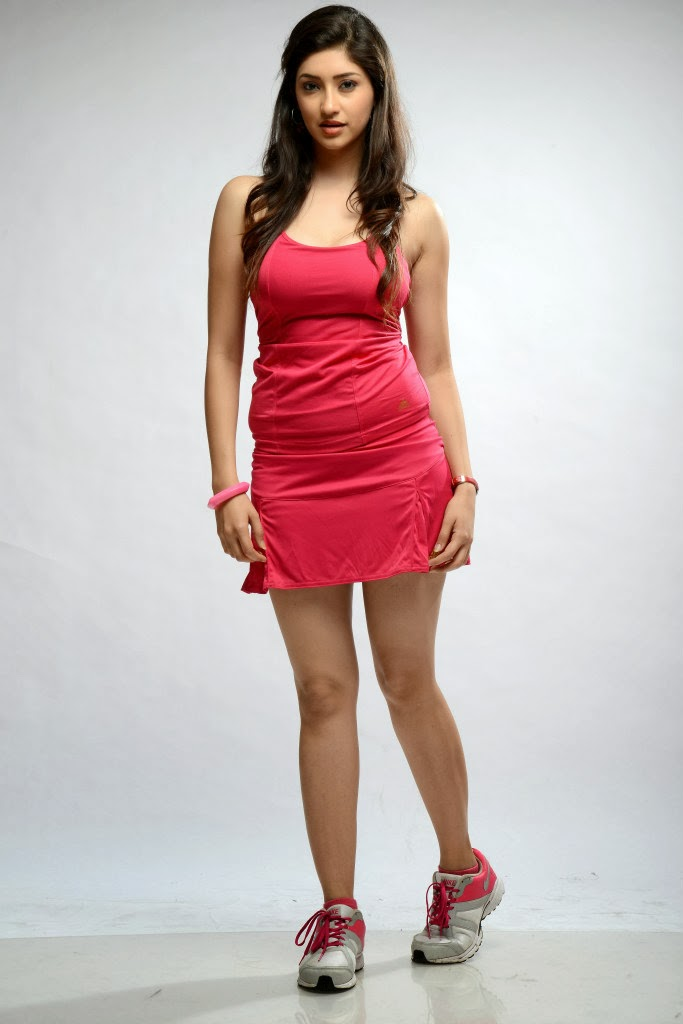 61b8243bbc Beautiful Indian Actress Tanvi Vyas in Short Red Dress