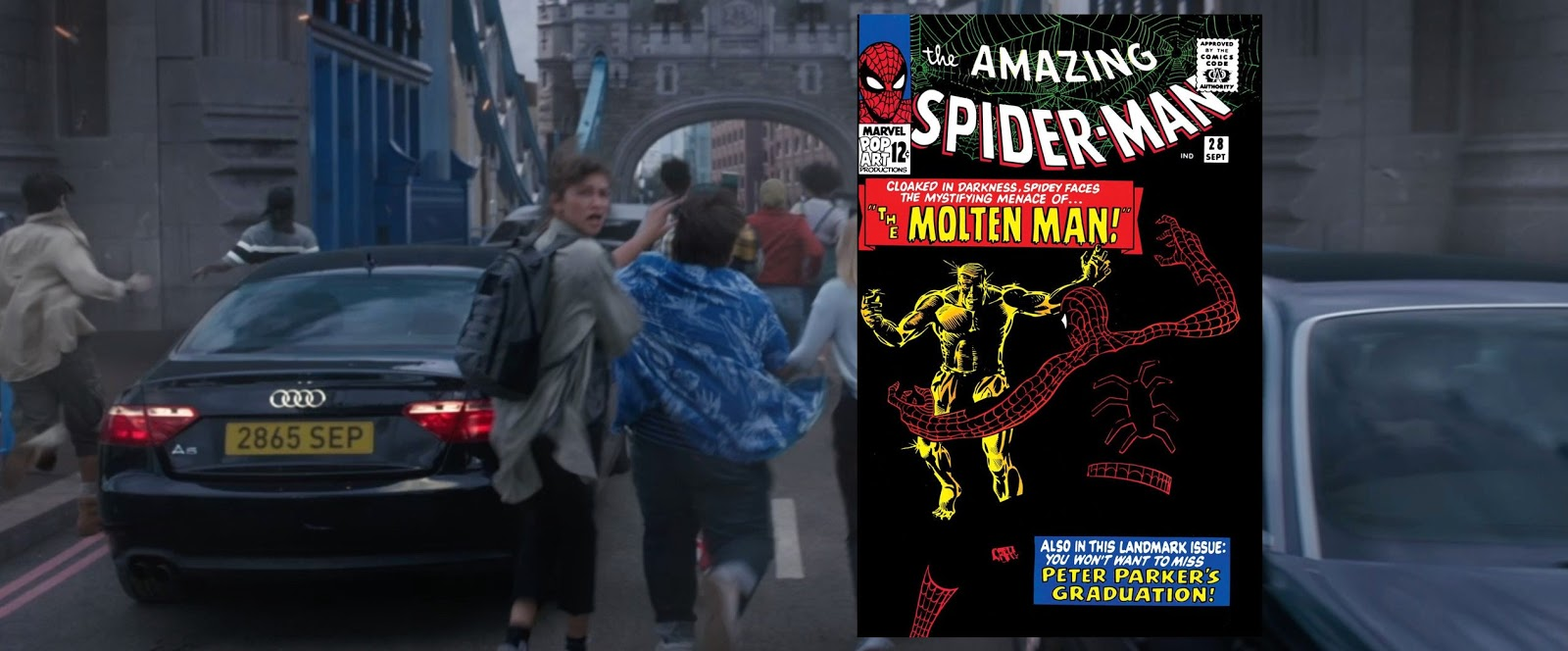 Easter eggs in Spiderman far from home Trailer