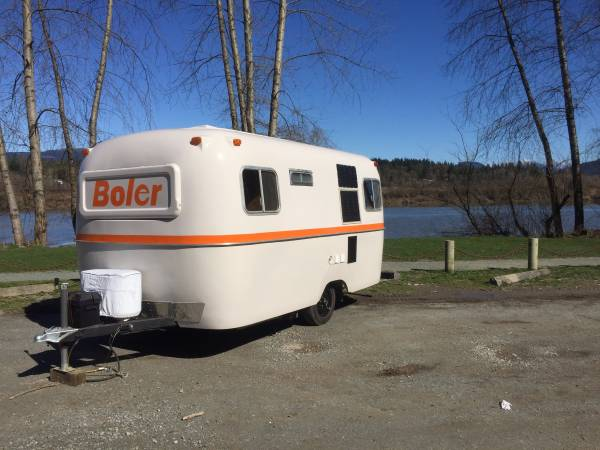 used rvs beautifully restored rare boler travel trailer for sale by owner. Black Bedroom Furniture Sets. Home Design Ideas