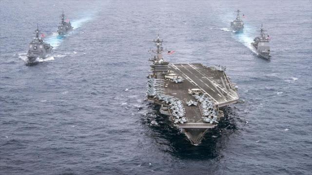 Portaaviones de EEUU atraca en Vietnam tras cuatro décadas