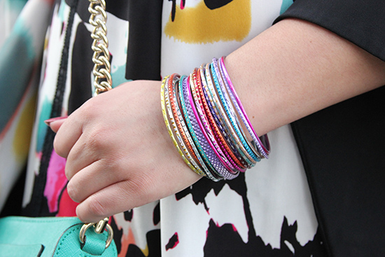 Forever 21 Multi Color Bangles Arm Party