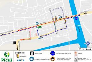 Prefeitura de Picuí fará mudança inicial no trânsito a partir desta quarta (04)
