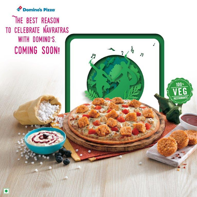 Domino's Pizza celebrates Navratras with all new Navratra Menu