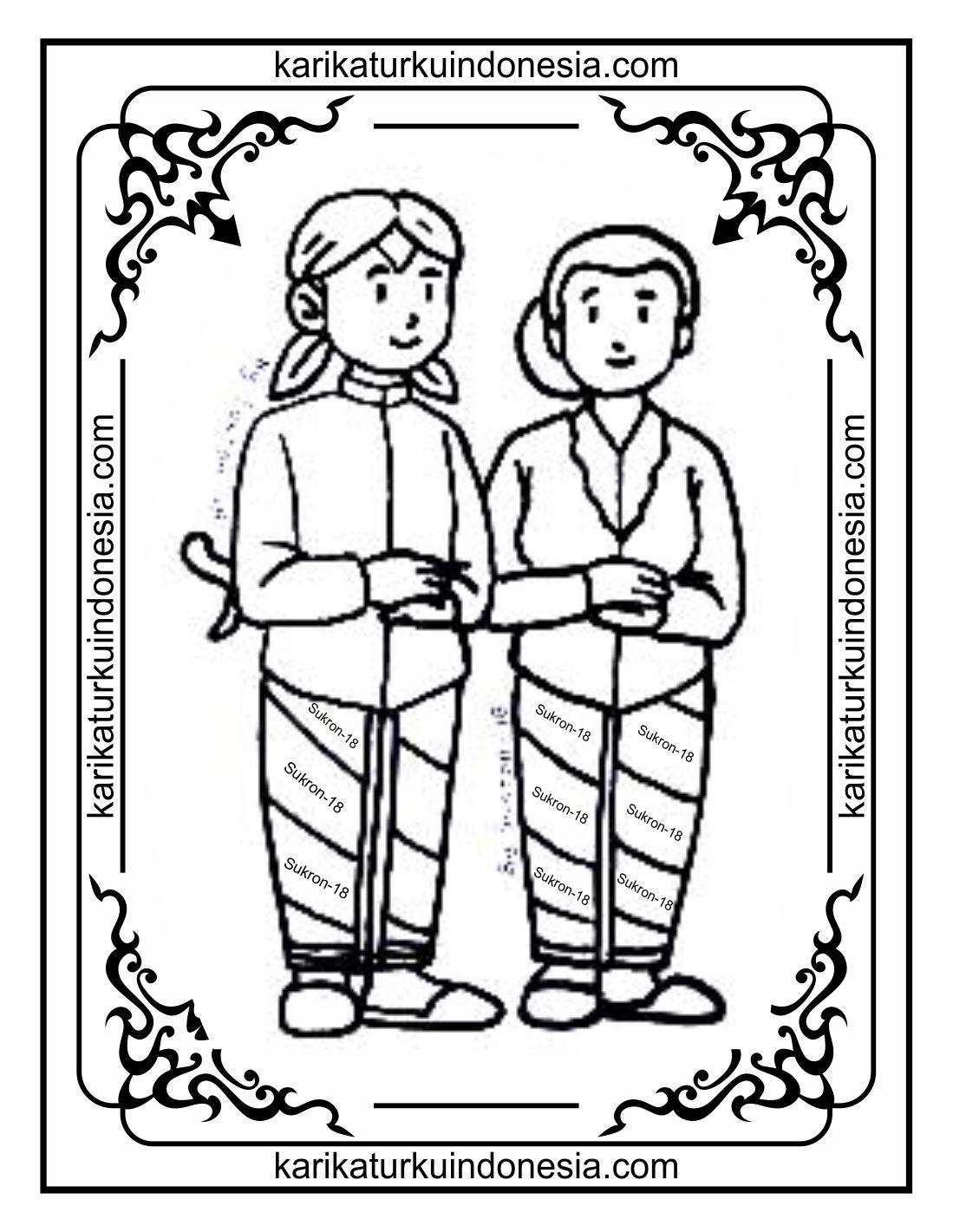 Mewarnai Pakaian Adat : mewarnai, pakaian, Mewarnai, Gambar, Pakaian, Tengah, Cerita, Terbaru, Lucu,, Sedih,, Humor,, Kocak,, Romantis
