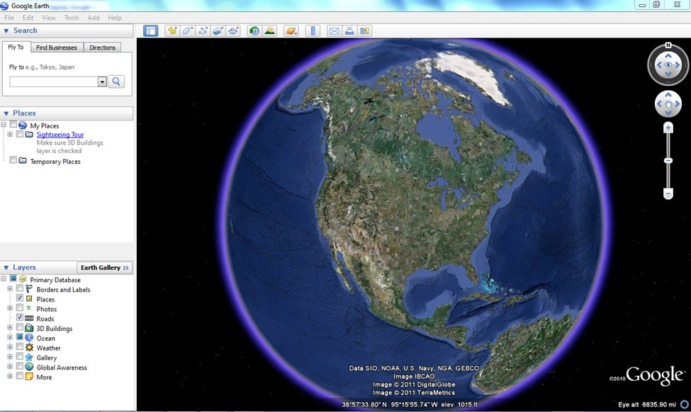 Google Earth made easy - tutorial, historical imagery