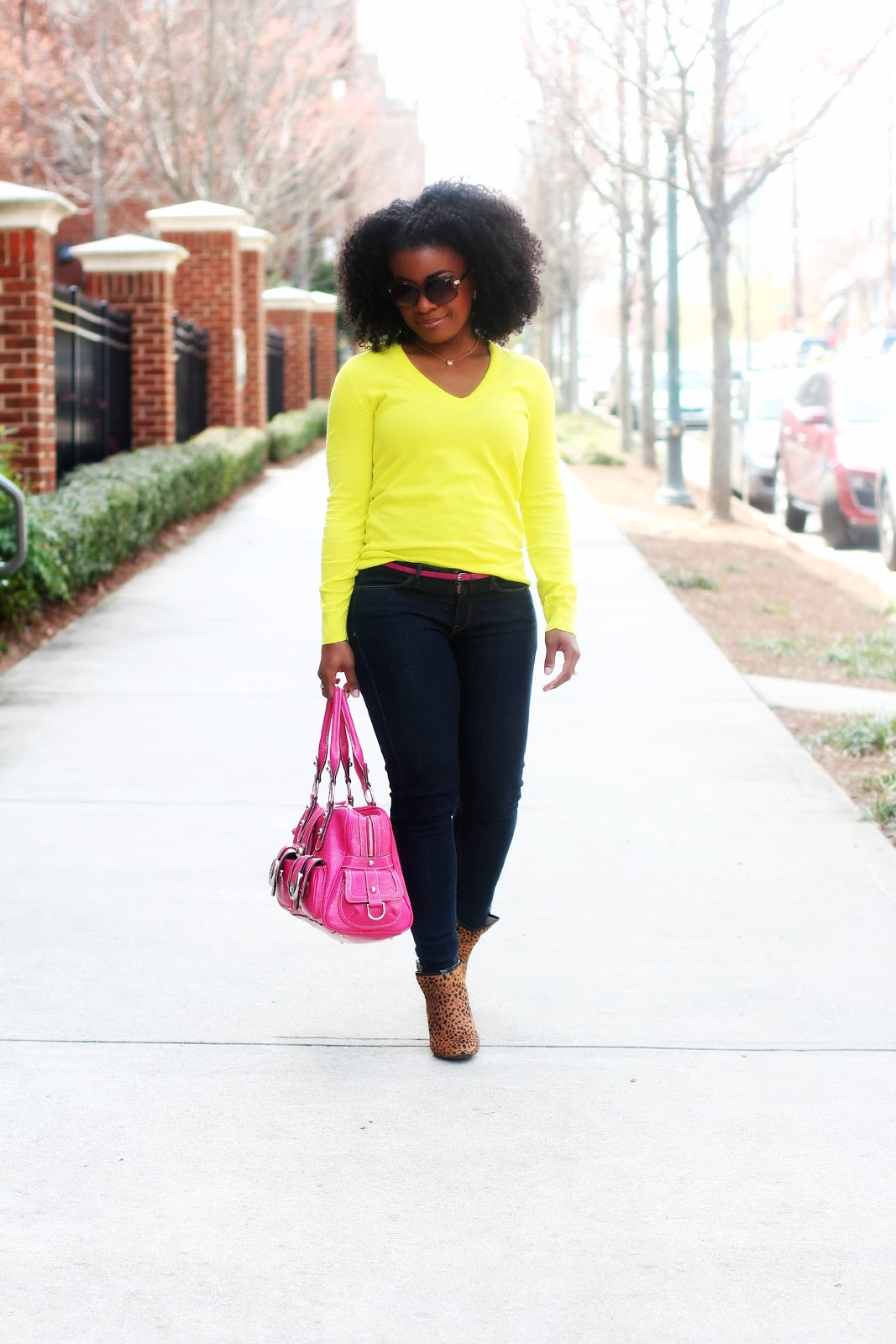d78a97a4c8 Outfit  Casual Friday Neon and Pink ~ The Serena Saga