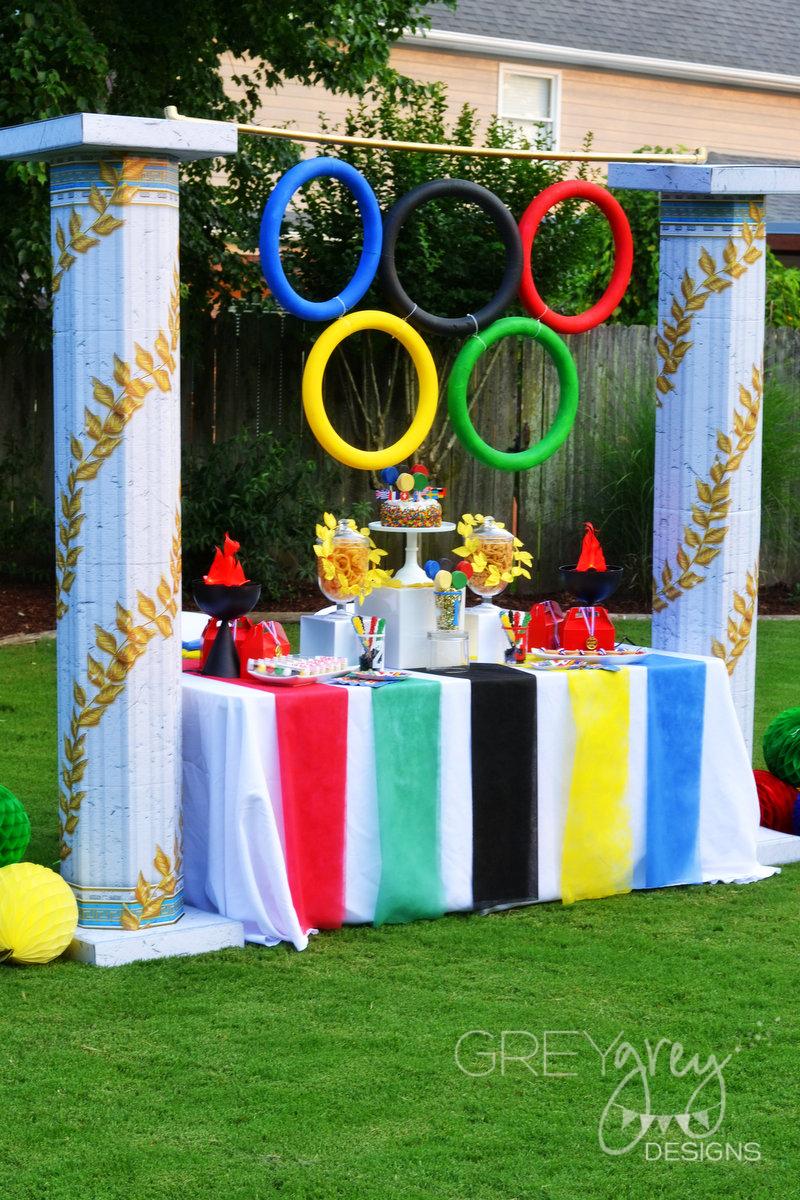 Greygrey Designs My Parties Olympics Party