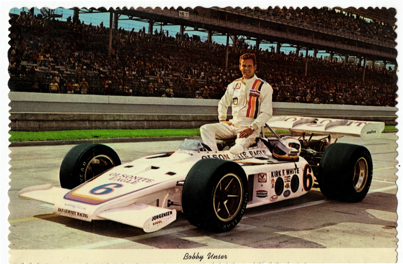 Jeff's Indy Talk: Driver Of The Day: Bobby Unser