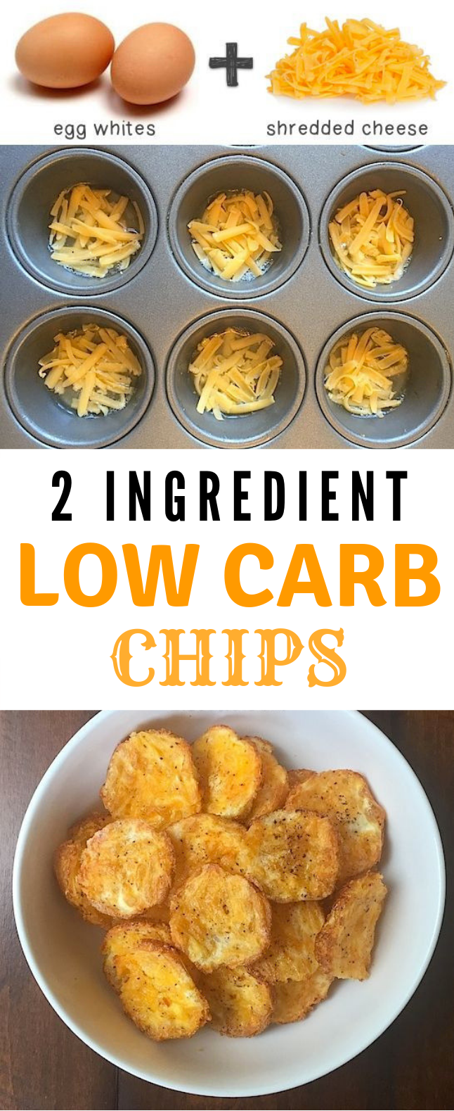 2 Ingredient Low Carb Chips #LowCarb #Chips
