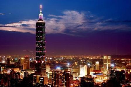 kota taipei di taiwan kota dengan teknologi modern dan mutakhir