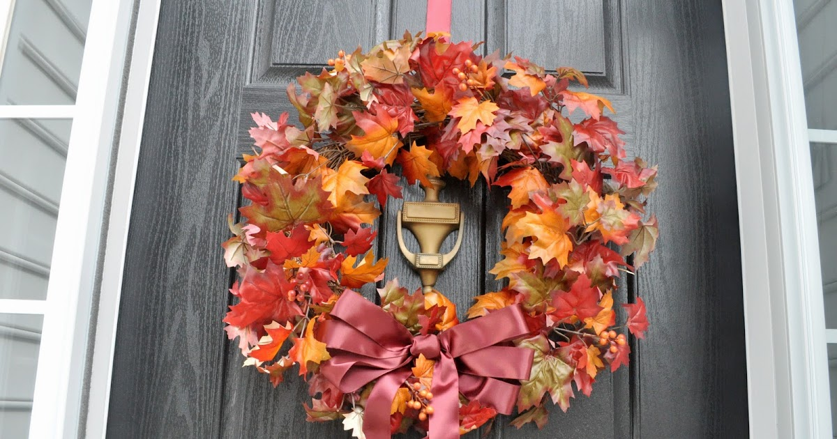 Not So Newlywed Mcgees Fall Flowers Amp Decor