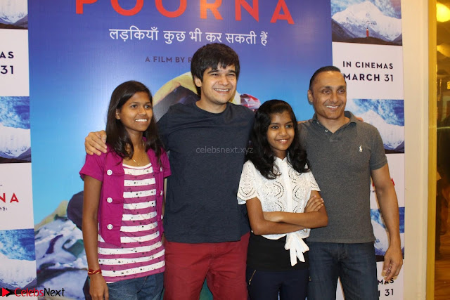 Bollywood celebs at the Screening of Movie Poorna 06.JPG