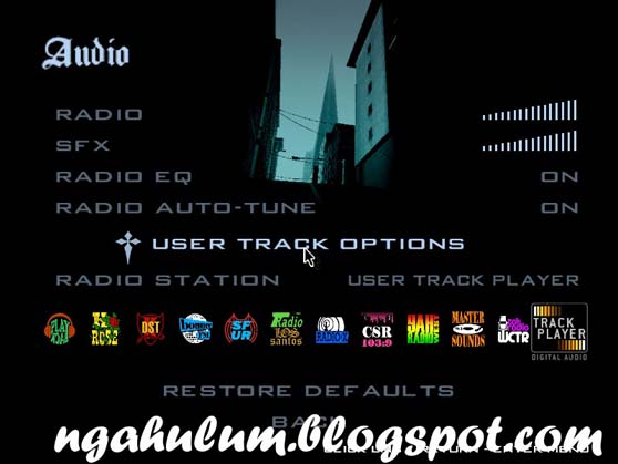 Memainkan Musik Sendiri di Radio GTA SA PC