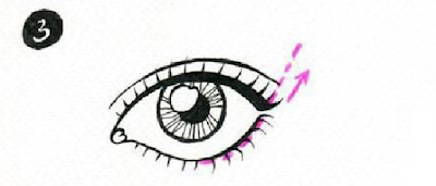 Langkah 3 Cara memakai Eye Liner Bagi Pemula