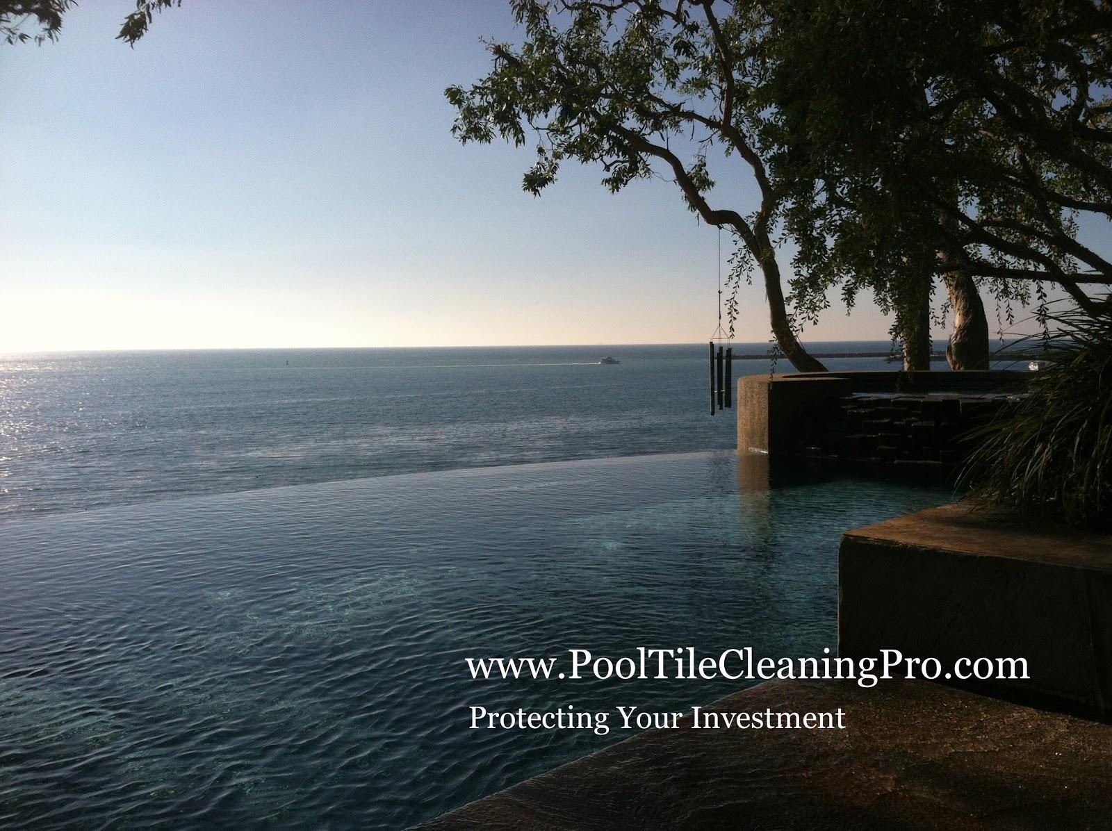 oc la palm springs riverside pool tile cleaning and repair bead blasting pool tile or soda blasting