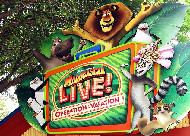 Show Madagascar Live Operation no Busch Gardens em Orlando