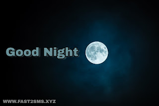 Good night pic By Fast2sms