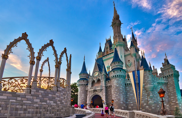 Castillo de la Cenicienta en Magic Kingdom en Orlando