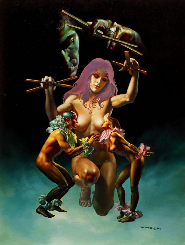 Início - Obras de Boris Vallejo ~ O rei no campo da fantasia