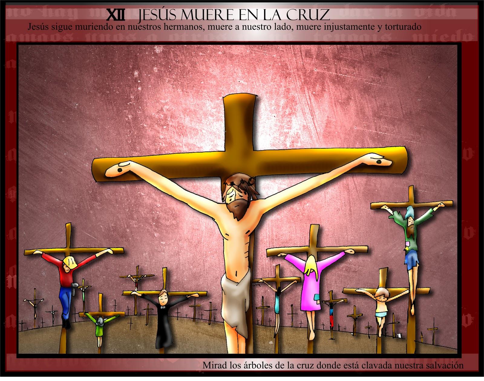 Dibujos Clase De Religion: CLASE DE RELIGIÓN: VIA CRUCIS DIBUJOS FANO COLOR
