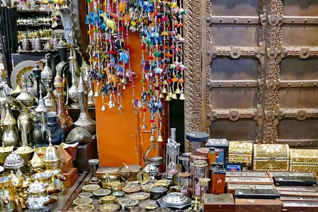Angebot, Ketten, Silber, Mutrah, Souk, Muscat, Oman, Weihrauchbrenner, Schatulle