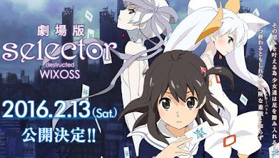 Selector Destructed WIXOSS Movie Subtitle Indonesia