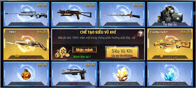 Diablo sVip và Shotgun sVip trong xưởng siêu vũ khí