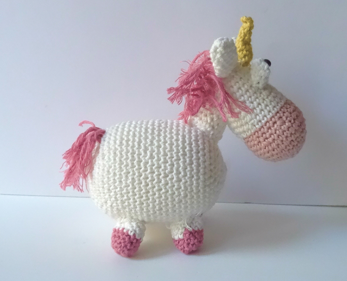 unicorn crochet pattern, unicorn pattern, crochet pattern von ... | 951x1175