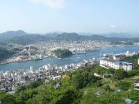 千光寺公園から尾道と瀬戸内海