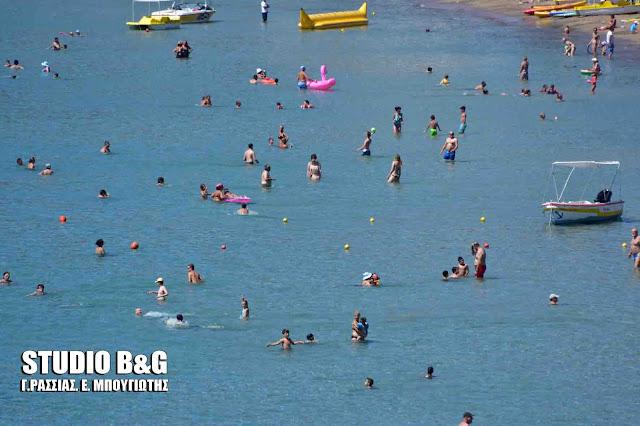 Αφόρητη η ζέστη στη Αργολίδα - Δείτε πόσο έφτασε σε Άργος και Κρανίδι
