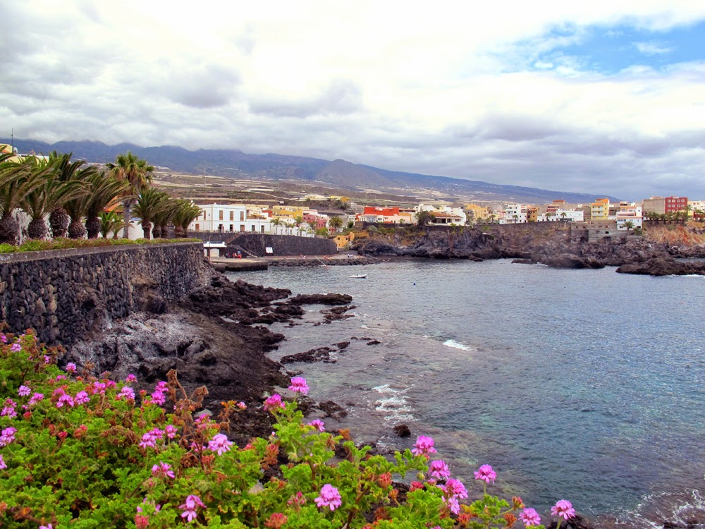 Alcala coast, south Tenerife