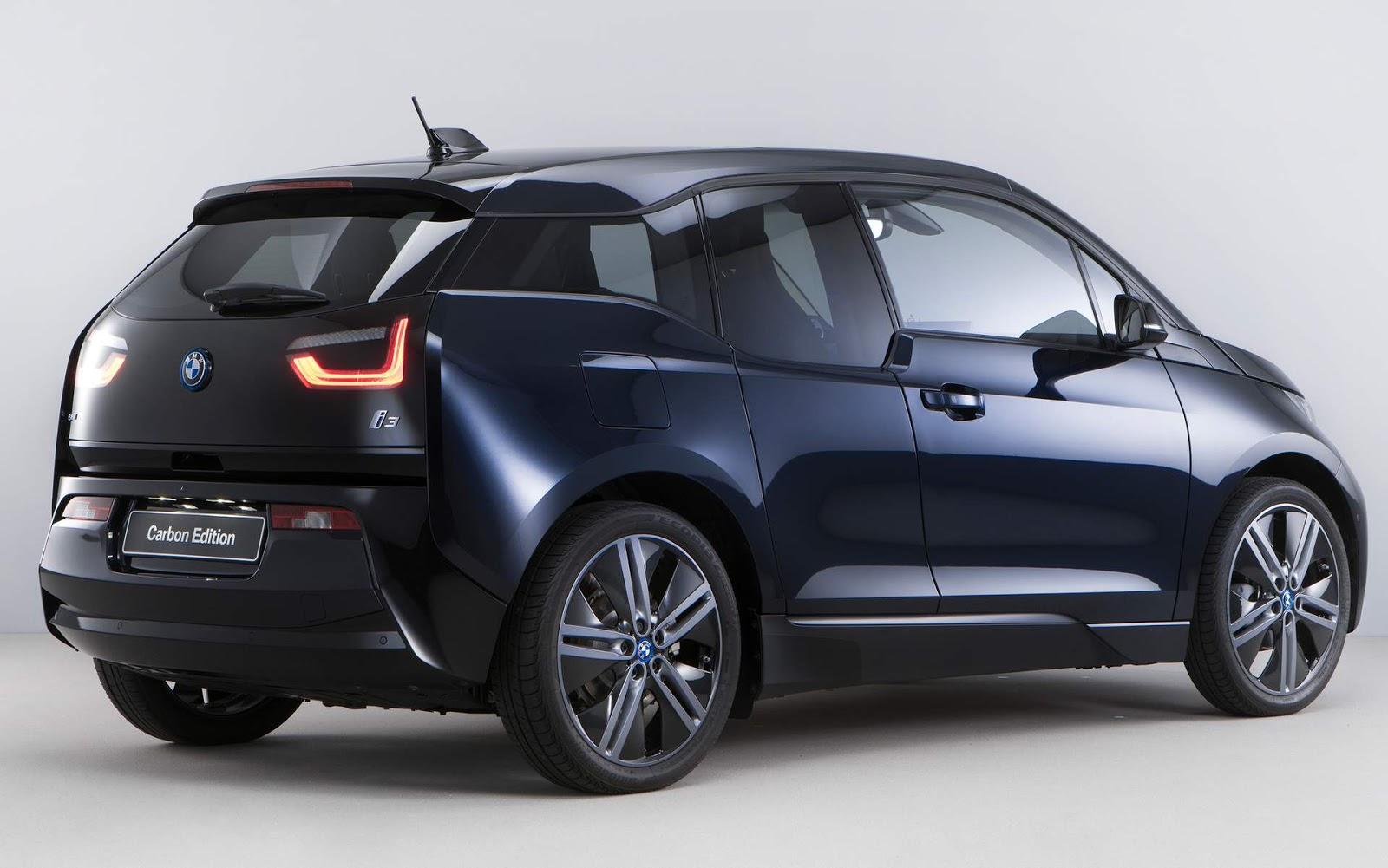 bmw i3 ganha s rie especial limitada carbon edition car. Black Bedroom Furniture Sets. Home Design Ideas