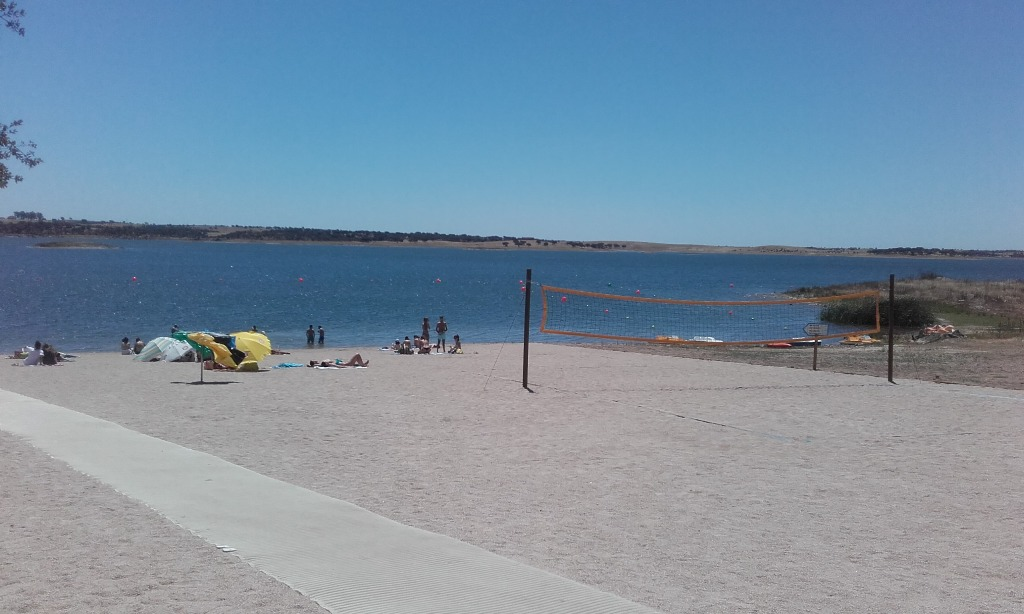 Campo de Volei de praia