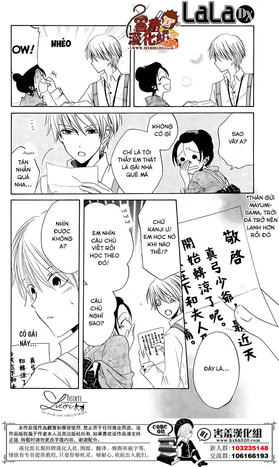 Haikei Mayumi-sama chap 3 - Trang 7