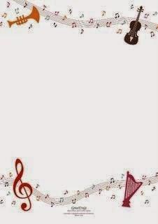Fiesta con el Tema Música: Etiquetas para Imprimir Gratis.
