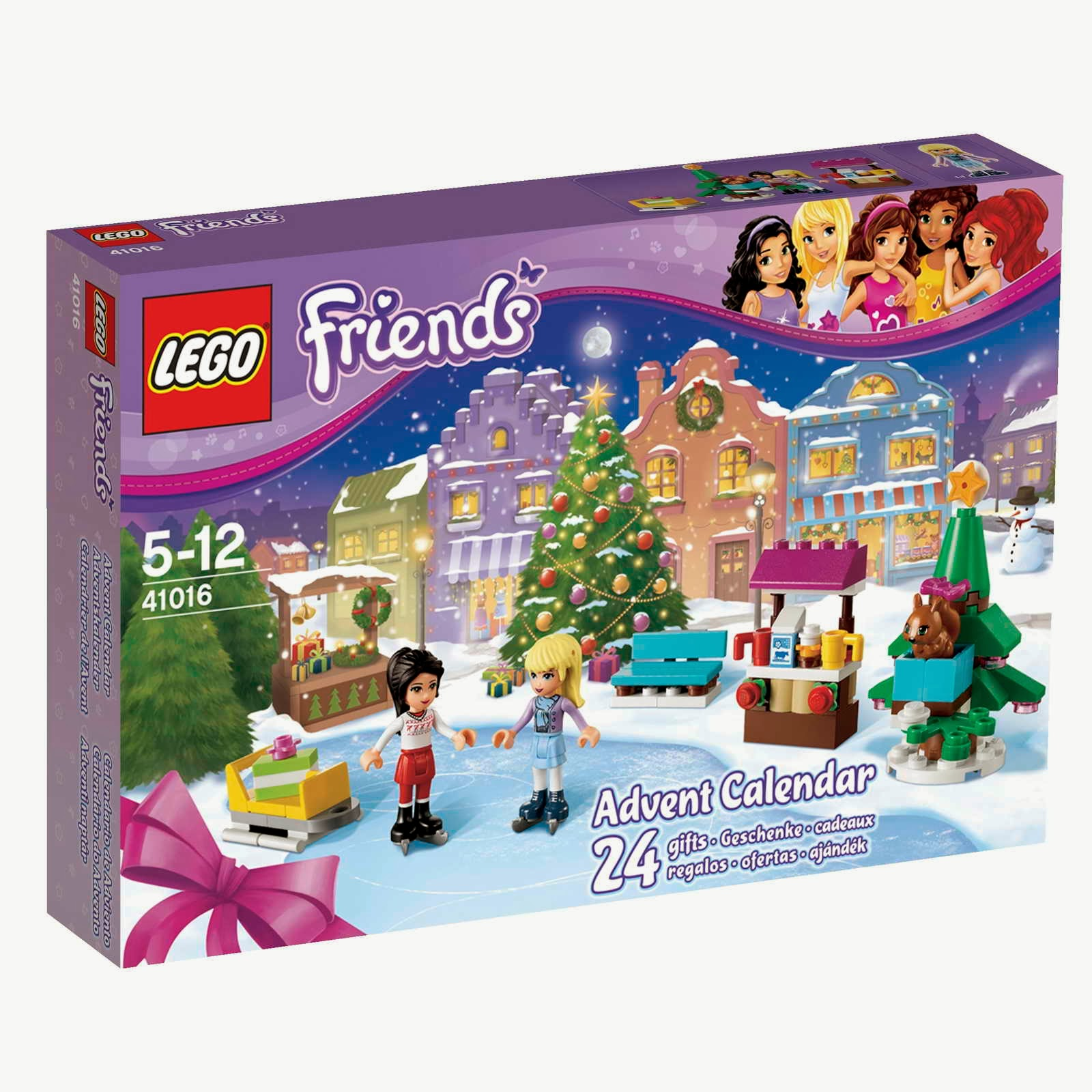 set database lego 41016 friends advent. Black Bedroom Furniture Sets. Home Design Ideas