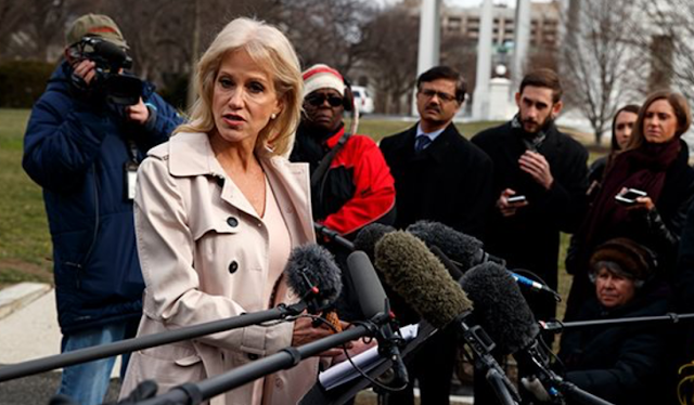 Kellyanne Conway Spars With Reporters: We're Taking Apologies, by the Way