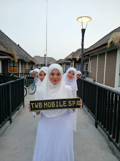 The walking beauty, mobile spa, kursus spa,kursus mobile spa, kuantan, mobile spa kuantan, muslimah,
